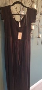American Rag black romper new with tags